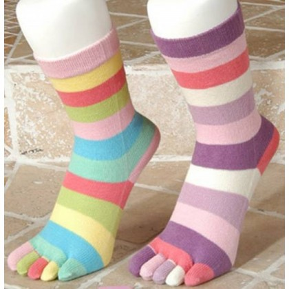 Daren Parmak  Bayan Soket Çorap