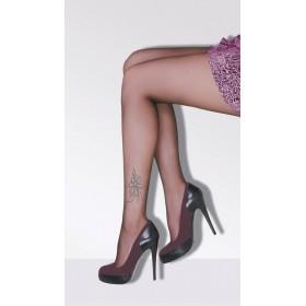Daymod Çiçek Taşlı Külotlu Çorap
