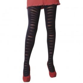 Daymod Yırtık Desenli Külotlu Çorap