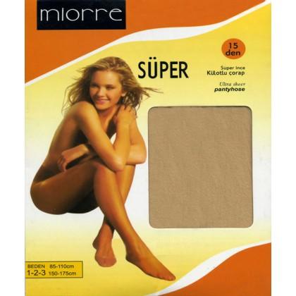 Miorre Maxi Süper İnce Külotlu Çorap 4-XL & 5-XXL