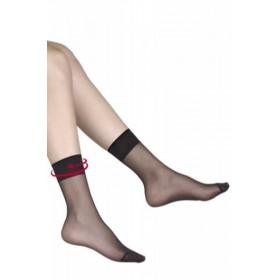 Müjde Fit 15 Parlak Soket Çorap