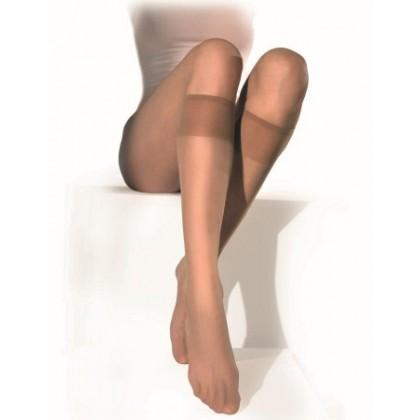 Penti Fit 15 Parlak Likralı Burunsuz Dizaltı Çorap