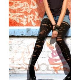Penti Rebel Yırtık Desenli Külotlu Çorap