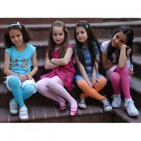 Baleks Pamuklu Düz Çocuk Külotlu Çorap