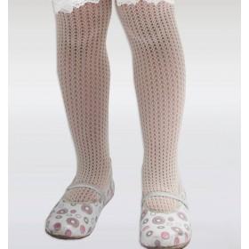 Dore Örümcek File Çocuk Külotlu Çorap