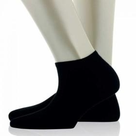 Vip Pamuk Siyah 6 Adet Çocuk Patik Çorap