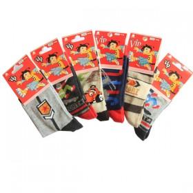 Vip Likrali Erkek Çocuk Çorabı