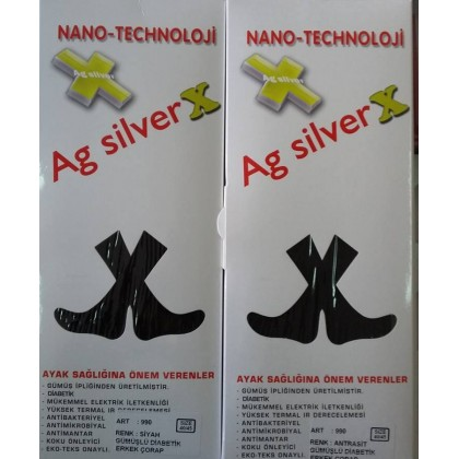 AG Silver X Gümüş Çorap