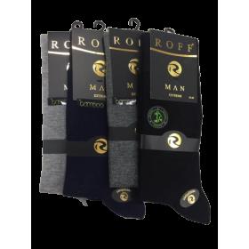 Roff Bambu 3 Adet Erkek Çorabı