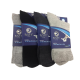Roff Antibakteriyel 3 Adet Diabetik Şeker Çorabı
