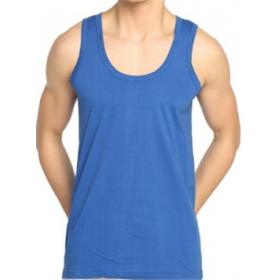 6' Lı Seher Yıldızı Penye Mavi Erkek Atlet