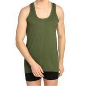 6 ' Lı Seher Yıldızı Penye Asker Yeşili Erkek Atlet