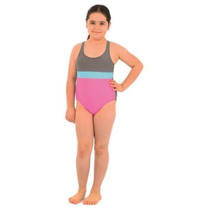 Azra Likralı Garson Kız Yüzücü Mayo